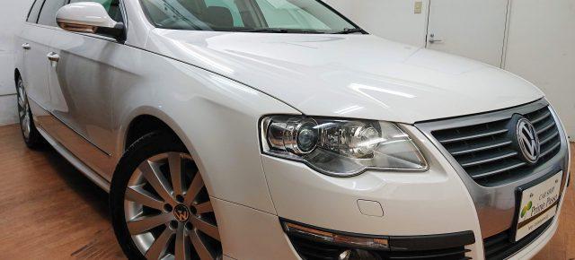 大容量ラゲッジのプレミアムワゴン!スタイリッシュなエアロが特徴の最終限定車!VWパサートヴァリアント入庫しました!!